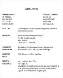 Business Resume Examples by 25 Modern Business Resume Templates Free U0026 Premium Templates
