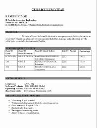 sle resume format for freshers doc sle resume for freshers electrical engineers doc 28 images 43