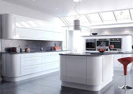 High Kitchen Cabinets Kitchen Amazing White Gloss Cabinets Home Design Ideas Inside