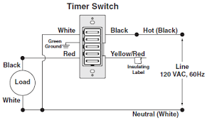 wiring a timer switch no neutral wire mydome