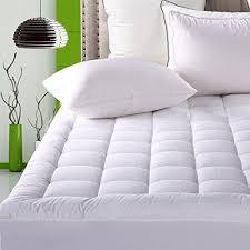 mattress pad cover queen size pillowtop 300tc down alternative