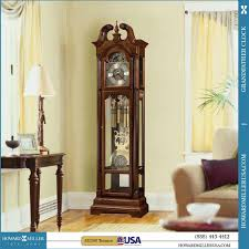 Hermle Grandfather Clock Clocks Fimour Oak Wood Grandfather Clocks For Home Furniture Ideas