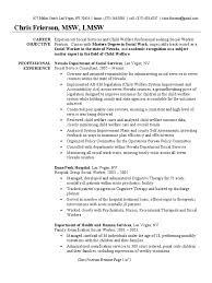 Mortgage Broker Resume Social Worker Resume Sample Social Work Psychiatry