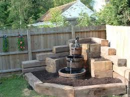 charming design backyard water fountains incredible outdoor patio