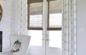 door window treatment ideas for doors amazing french door glass