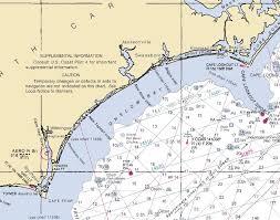 Nc Coast Map Onslow Bay Saltwater Fishing Club