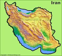 Iran On World Map Iran Maps Maps Of Iran
