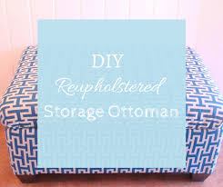Diy Reupholster Ottoman by Diy Reupholstered Storage Ottoman A Toy Box Makeover Diy On Trial