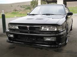 mitsubishi galant body kit mike valencia u0027s gsx tc nile black 91 galant vr4 550 2000