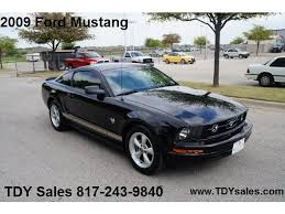 mustang 2009 for sale tdy sales 817 243 9840 for sale 2009 ford mustang automatic
