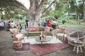 Vintage Backyard Wedding Ideas by Eclectic Austin Farm Wedding Amy Craig Vintage Wedding And