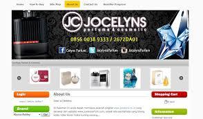 Jual Parfum Shop Surabaya www jocelyns co id pusat jual parfum original murah di indonesia
