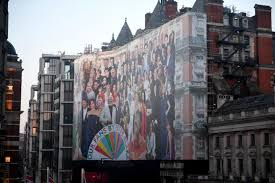 sir peter blake u0027s biggest ever collage will cover the mandarin