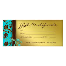 Custom Gift Cards For Small Business Gift Certificate Floral Lace Nail Hair Salon Custom Rack Card