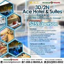mango tours 3d 2n package at manila hotel promo accommodation