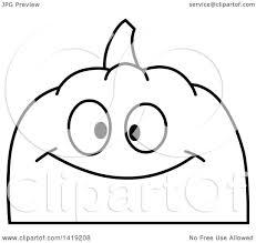 pumpkin black and white pumpkin clipart of a black and white pumpkin face emoji royalty free