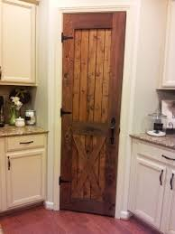White Stain Kitchen Cabinets Shelving Systems And Rustic Pantry Door For Organizer With Black
