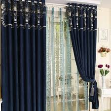 Royal Blue Blackout Curtains Catchy Royal Blue Curtains And Victorian Royal Blue Chenille