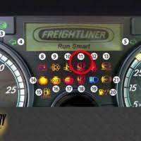 freightliner cascadia warning lights kenworth dash lights not working www lightneasy net