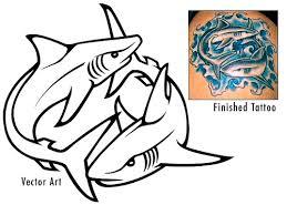 shark tattoo flickr photo sharing tiger shark tattoo