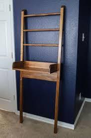 Diy Leaning Ladder Bathroom Shelf by Wood Folding Ladder Plant Flower Pot Display Book Shelf Wall