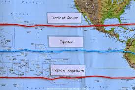 map of equator s home education ideas learning about maps latitude and