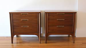 Mid Century Nightstands Picked Vintage