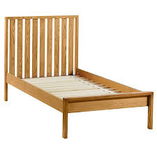 cargo low footboard bed natural the land of nod