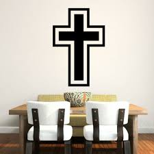 online get cheap christians stickers aliexpress com alibaba group new cross christian removable wall stickers home decor wedding decoration 3d wallpaper wall art