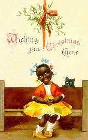 black christmas cards free clip from vintage crafts archive free