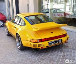 porsche ruf yellowbird ruf 930 ctr yellowbird 21 june 2015 autogespot