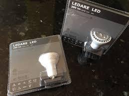 Led Gu10 Light Bulbs by Ikea Ledare Gu10 200 Lumen 4 5 Watts Small Led Light Bulb Led