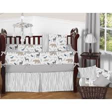 Jungle Nursery Bedding Sets by Tie Dye Elephant 3 Piece Quilt And Sham Set Earthbound Trading