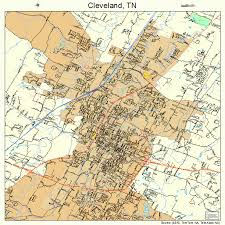 map of cleveland cleveland tn map my