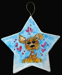 custom caricature ornaments of your pet