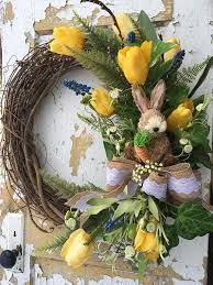 spring wreaths for front door spring wreath for front door easter wreath easter bunny wreath