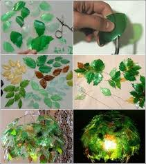 Chandelier Made From Plastic Bottles This Stunning Leaf Chandelier Is Made From Just Plastic Bottles