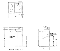 kitchen sink rough in diions best ideas with standard size images