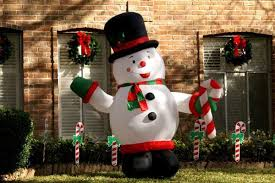 Snowman Lawn Decorations Christmas Outdoor Decorations For A Merry Holiday Mood