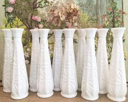 Mini Vases Bulk Milk Glass Vase Etsy