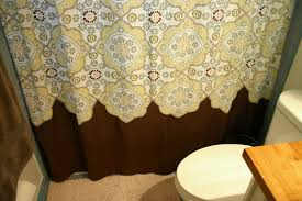White And Yellow Shower Curtain Yellow And Brown Shower Curtain Like This Item Floral Shower