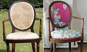 How To Reupholster Armchair How To Reupholster A Chair Life And Style The Guardian