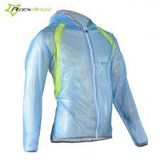 mtb rain jacket rockbros cycling jacket men tpu waterproof windproof sports bicycle