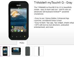 lg made t mobile mytouch and mytouch q android smartphones coming