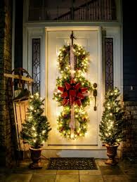 room decor outdoor christmas decorations trees improving large