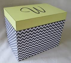 personalized box large 5x7 recipe box personalized greeting card storage