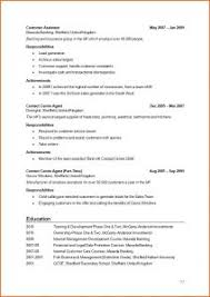 Resume Example Simple by Examples Of Resumes Cv Sample Job Application Example Resume