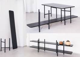modular furniture by norwegian designers reflects flexibility in
