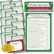 christmas quiz games facts u0026 trivia party game for family office