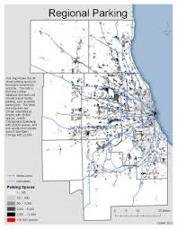 Chicago Parking Zone Map by Existing Conditions Cmap